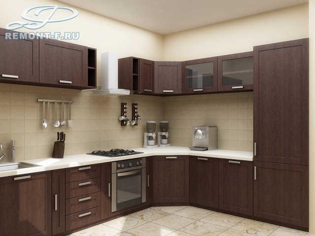 Готовые проекты дизайна кухонь